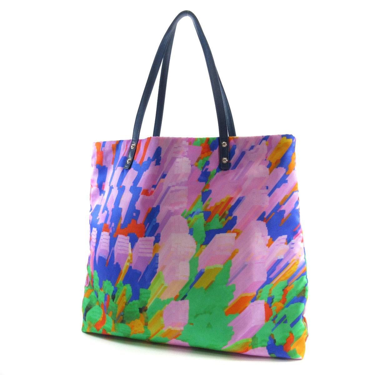 7a6eedea9b2 Lyst - Chanel Nylon Tote Bag Coco Mark