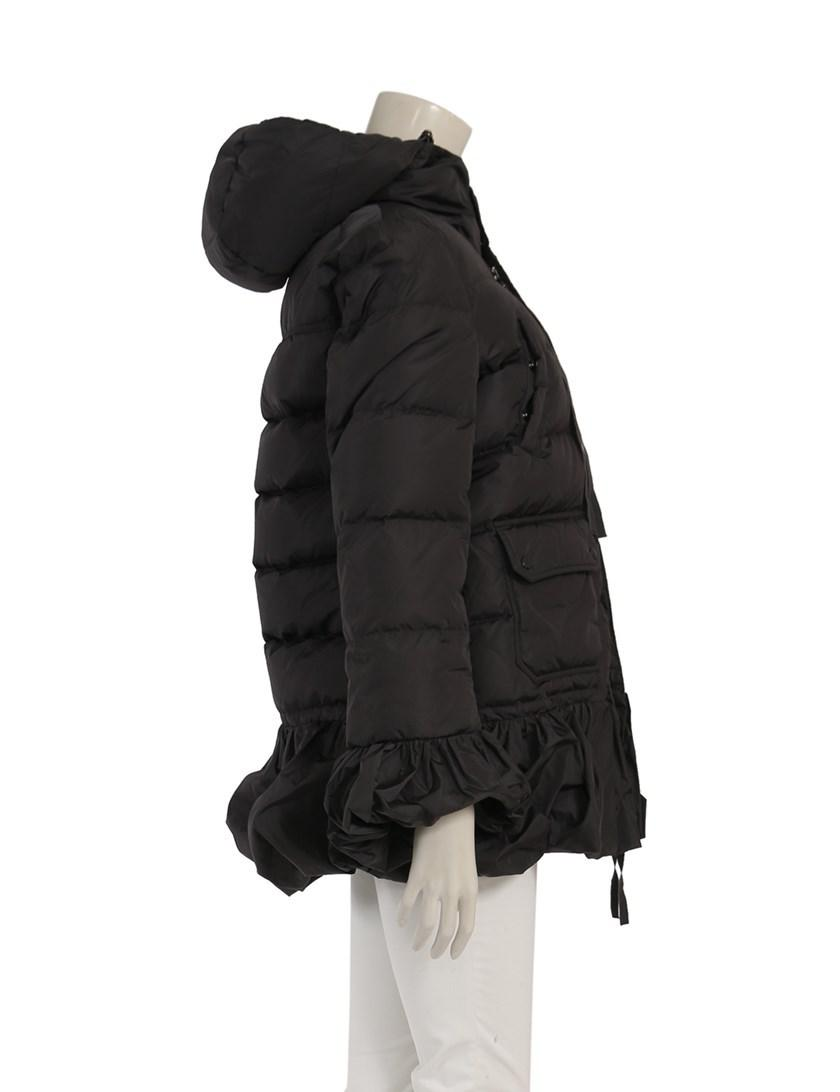 e1dbe79e7 Lyst - Moncler Serre Down Coat Pepuramu Nylon Gray in Gray