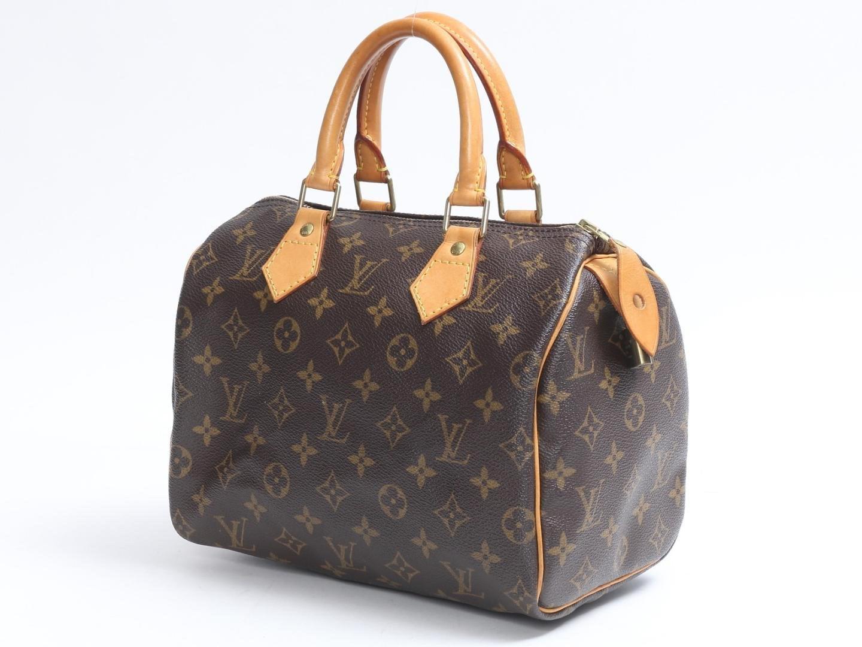 Louis Vuitton - Brown Speedy 25 Boston Hand Bag Monogram Canvas M41528 -  Lyst. View Fullscreen beeec08398