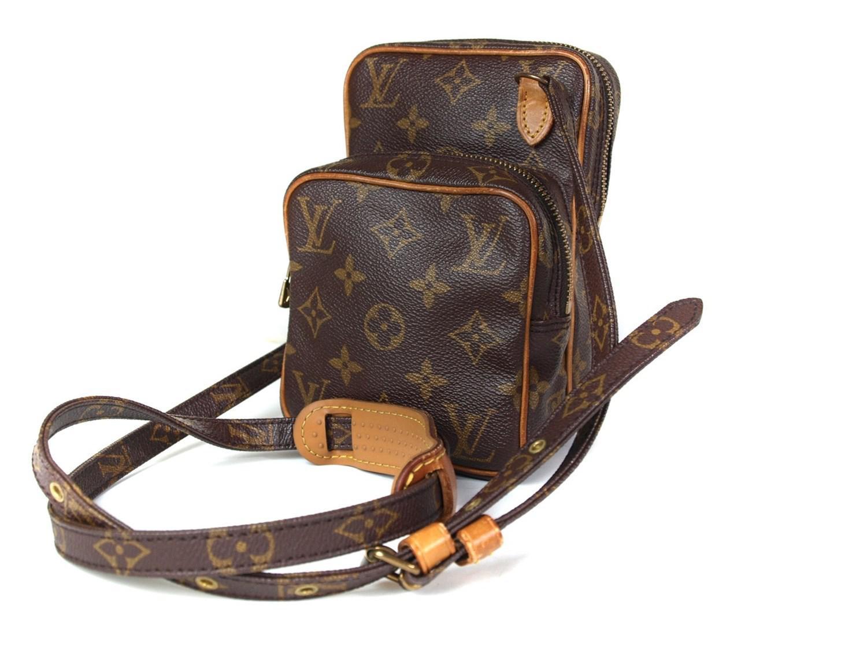 bda54f62fe Louis Vuitton Auth Mini Amazon Monogram Canvas Leather Shoulder Bag ...