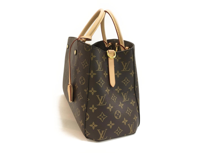 718c7450f834 Lyst - Louis Vuitton Montaigne Mm 2way Shoulder Bag Monogram Canvas ...