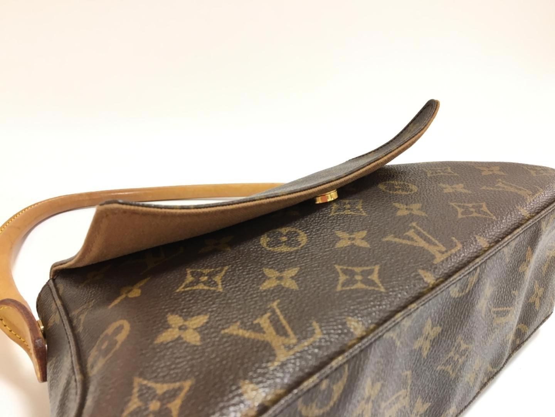 ac4135ad7af44 Lyst - Louis Vuitton Mini Looping Flap Shoulder Bag Monogram Canvas ...