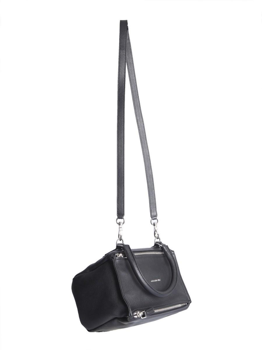ad6e332f4f1 Givenchy - Black Small Pandora Bag In Hammered Leather - Lyst. View  fullscreen