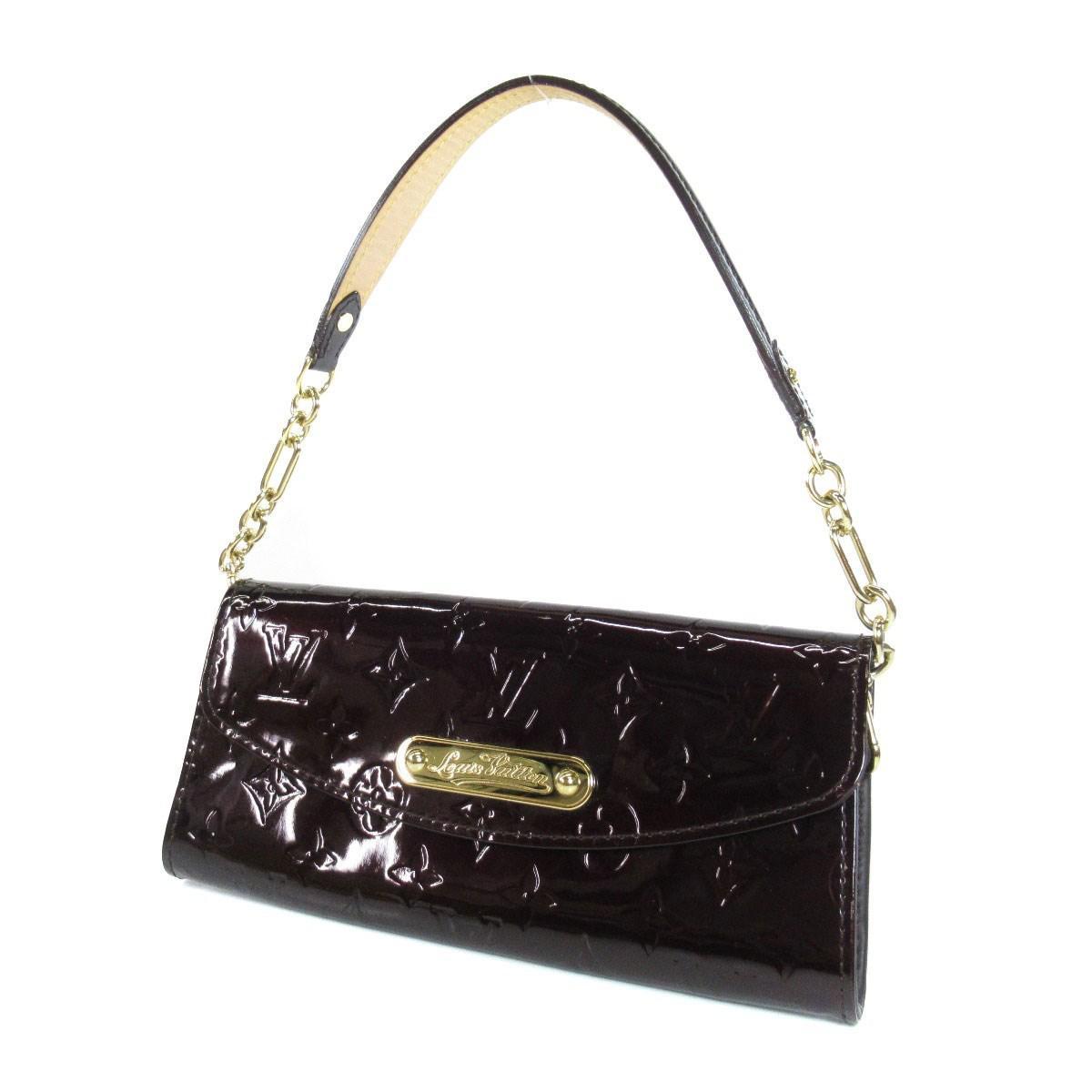 64d25d6d5afc Lyst - Louis Vuitton Vernis Handbag M93542 Sunset Blue Bird in Red
