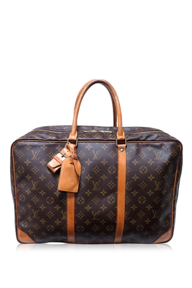 74d76c358 Louis Vuitton. Men's Brown Auth Serius Boston Hand Bag M41408 Monogram  Canvas Used