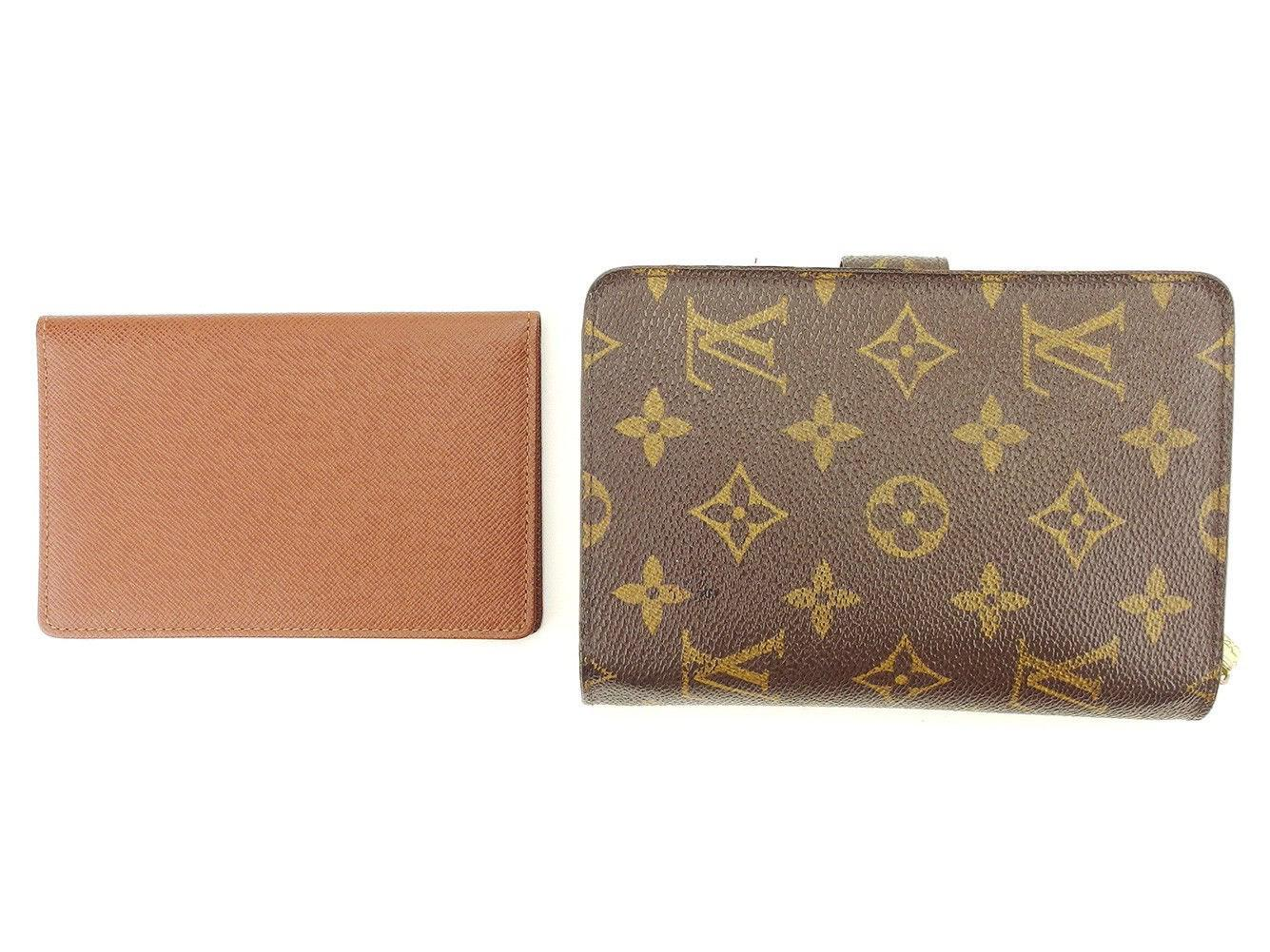 4bd9d213a6a9 Lyst - Louis Vuitton Wallet Monogram Womens Men Used T4930 in Brown