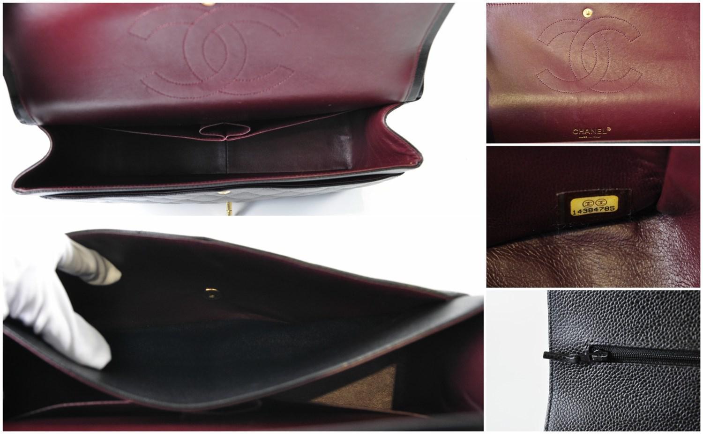 d40b60005d22 Chanel Maxi Jumbo Caviar Classic Flap In Black Ghw in Black - Lyst