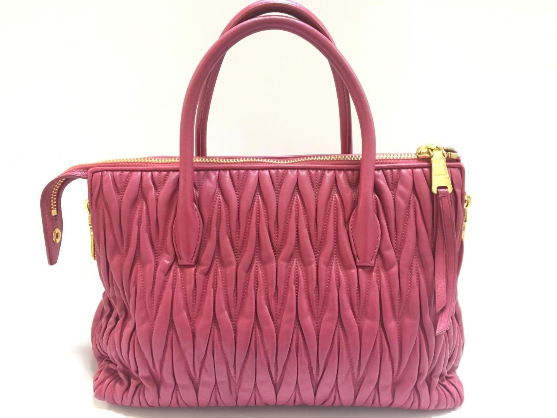 1a08097954 Lyst - Miu Miu Miumiu Matelasse 2way Shoulderbag Handbag Leather ...