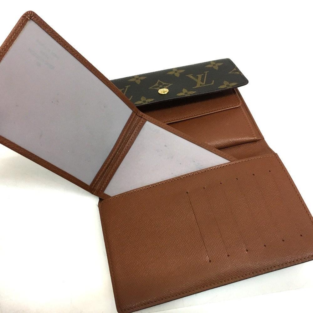 110d4581f6b4 Lyst - Louis Vuitton Monogram Porte Tresor Etui Papier Tri-fold ...