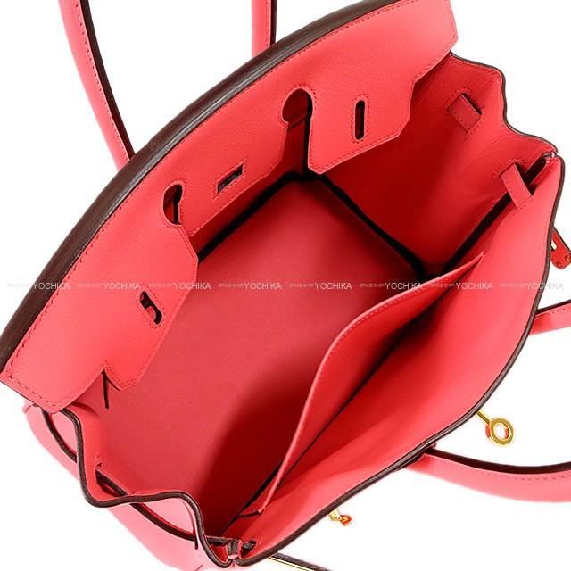 2d5e0920a110 Lyst - Hermès Handbag Birkin 25 Rose Azalee Swift Ghw never Used ...