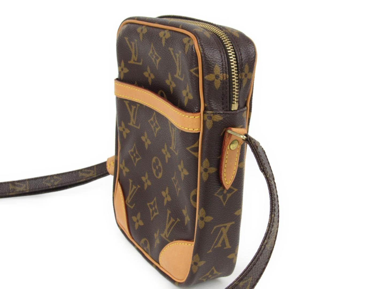 e81f2bf3c80c Lyst - Louis Vuitton Danube Crossbody Shoulder Bag M 45266 Monogram ...