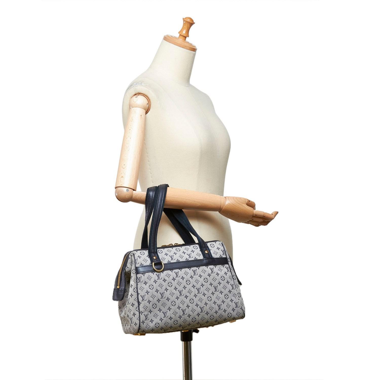 Lyst - Louis Vuitton Mini Lin Josephine Pm in Gray 98c400fbbc9c