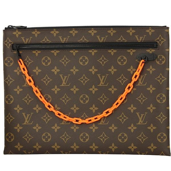 bf3f57192b8c Lyst - Louis Vuitton Pochette A4 Monogram Virgil Abloh Clutch Bag ...