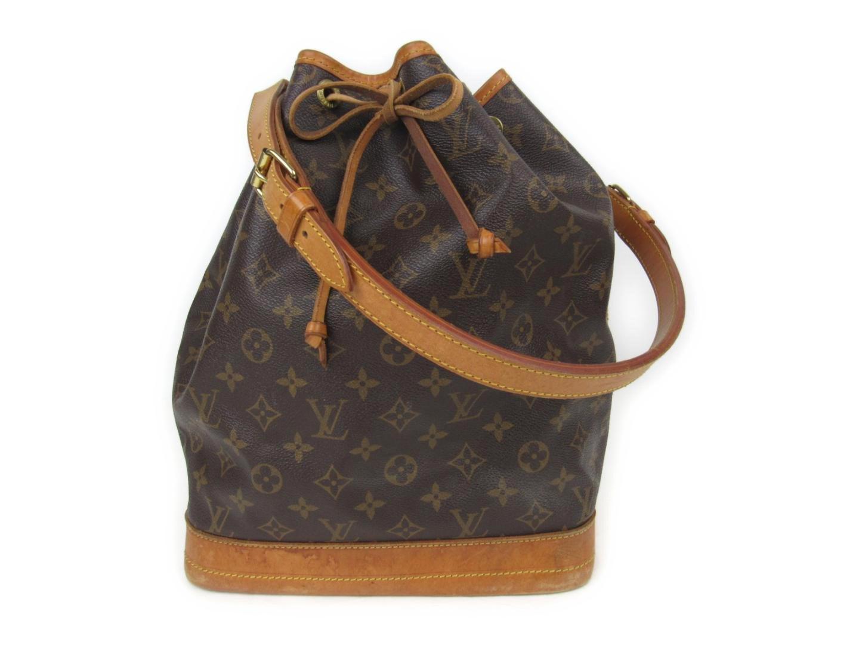 d70d229c0426 Lyst - Louis Vuitton Noe Shoulder Bag Monogram Canvas M42224 in Brown