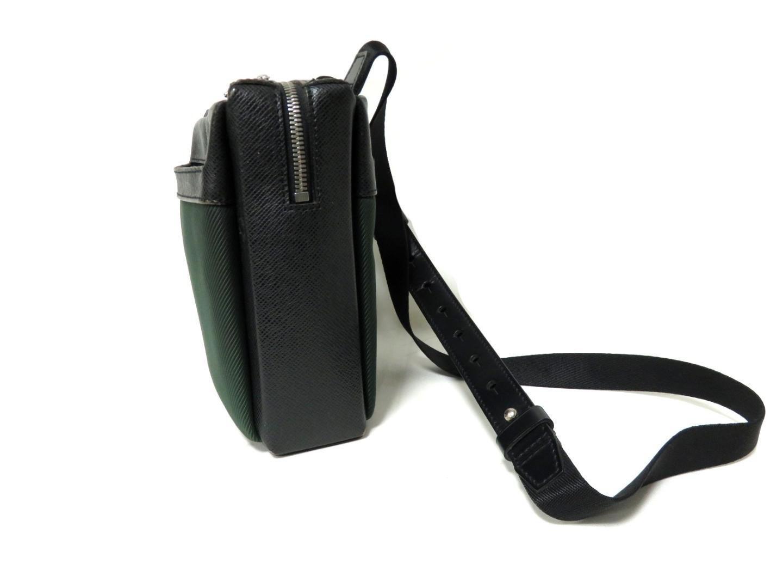Lyst - Louis Vuitton Auth Beloukha Shoulder Bag M30912 Taiga Nylon ... 48370be960a2a