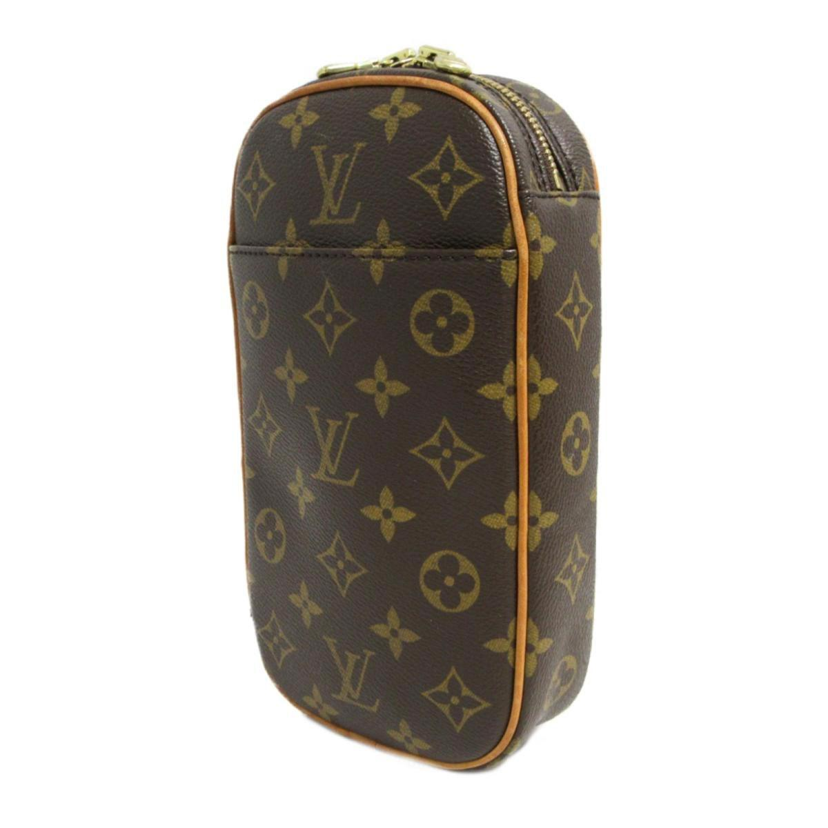 Lyst - Louis Vuitton Auth Pochette Ganjonwaist Bag M51870 Monogram ... 1b016b58fbc2f