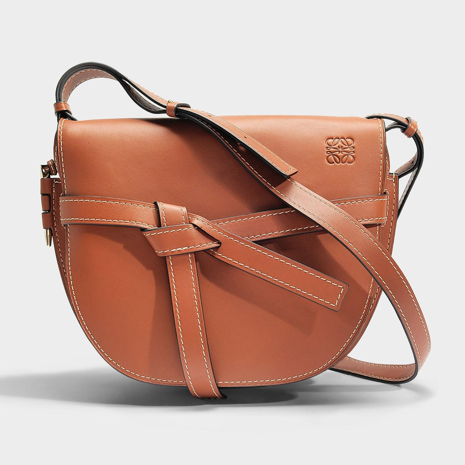 Quality Free Shipping Low Price Genuine Gate Small Bag in Rust Soft Natural Calf Loewe Cheap Real Finishline Cheap Sale Cheap Great Deals Cheap Online 0GN4NpH