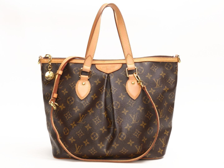 70b2bf0b60b0 Lyst - Louis Vuitton Palermo Pm Handbag Shoulder Bag Monogram Canvas ...