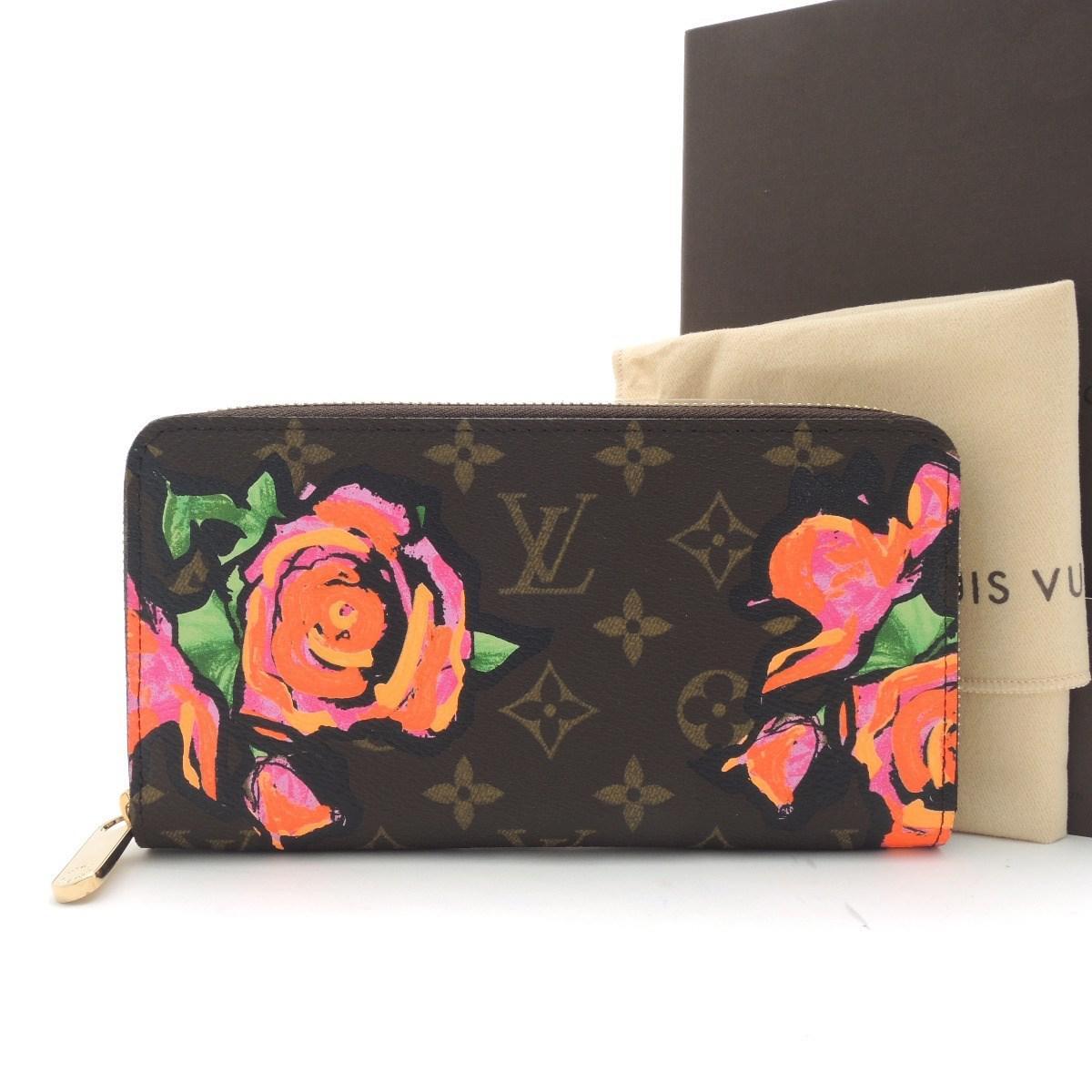 Lyst - Louis Vuitton Monogram Rose Zippy Wallet Rose Bifold Wallet ... cc2d5f312ae