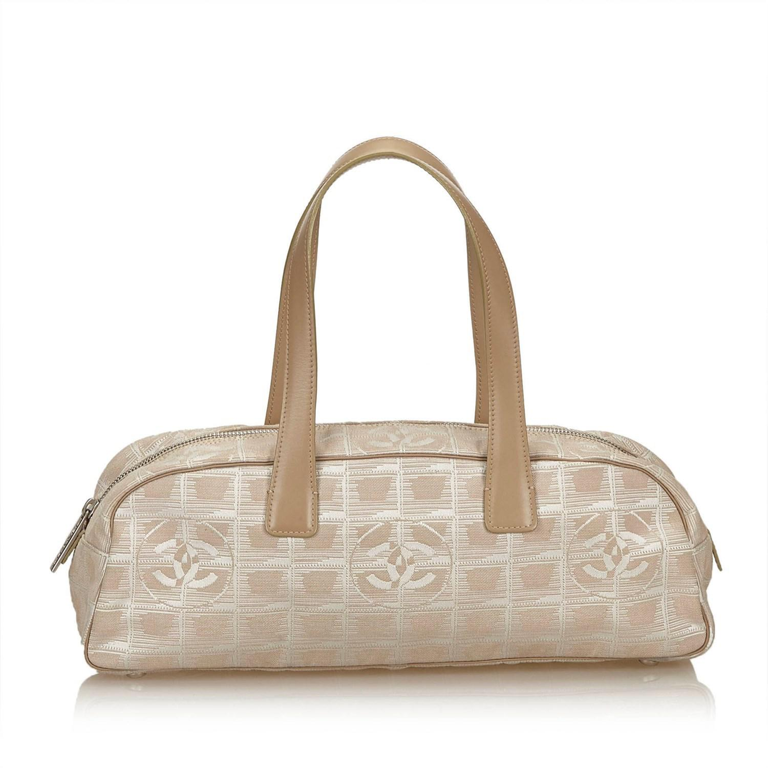 5912b0ff5535 Chanel New Travel Line Bowler Bag in Natural - Lyst