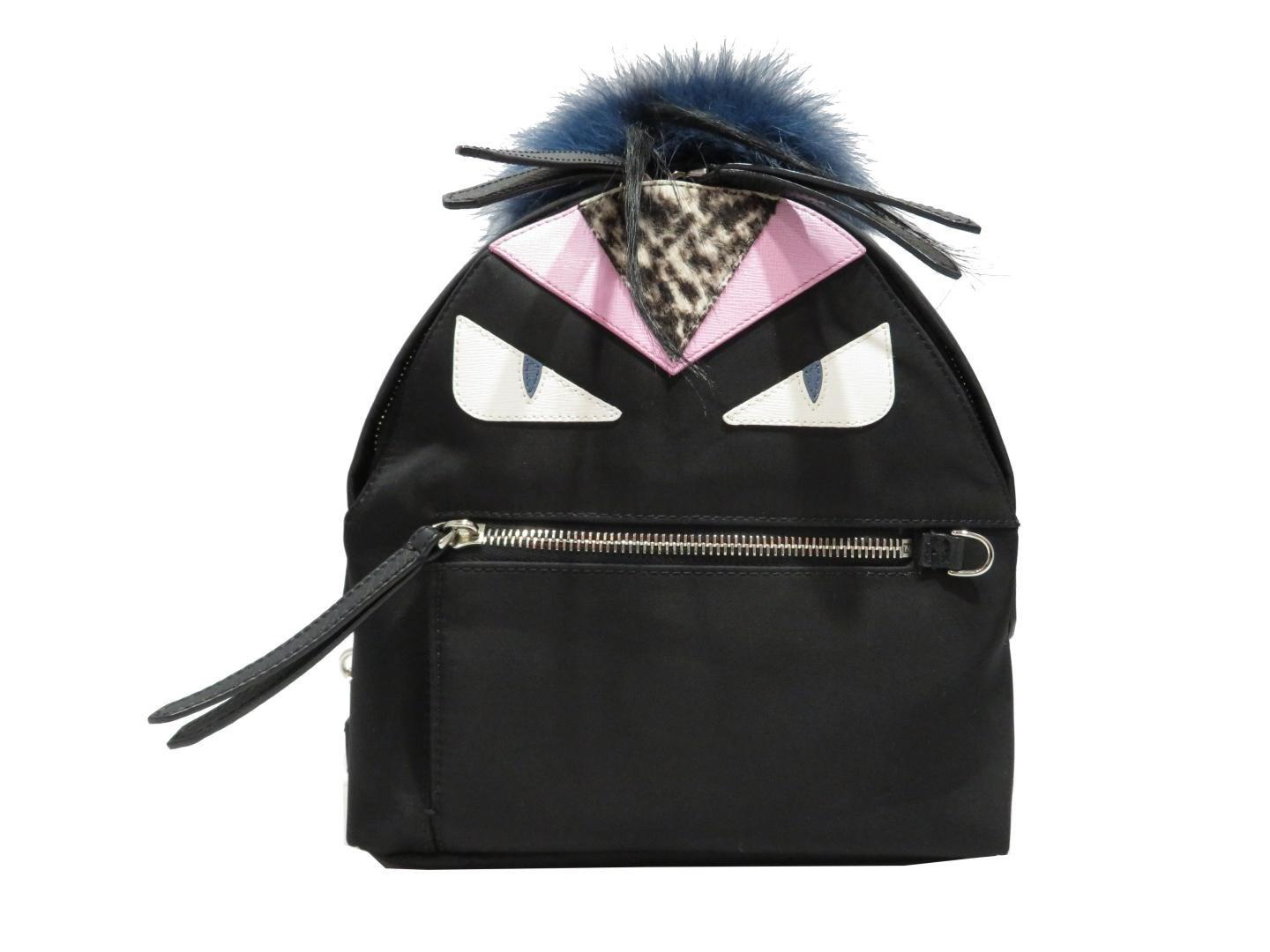159815ab53a Gallery. Previously sold at  Reebonz · Women s Mini Backpack Women s Fendi  Monster Women s Light Blue Bags ...