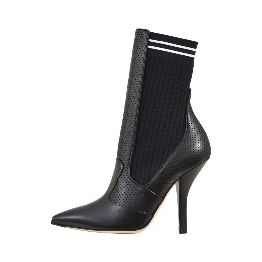 3c529aebb4c9 Lyst - Fendi Boots   Booties Nero in Black