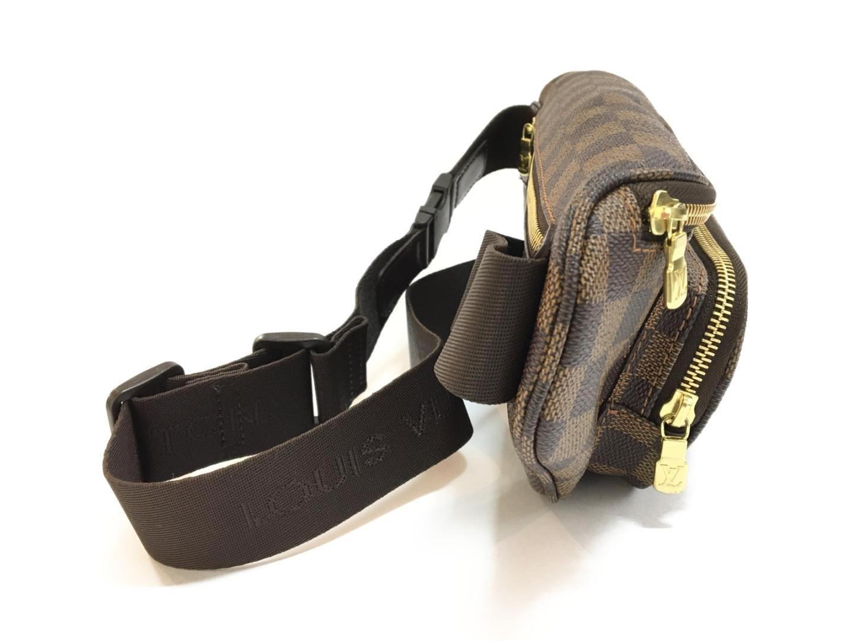2011a4d70311 Lyst - Louis Vuitton Damier Bum Bag Melville Ebene Waist Pouch ...