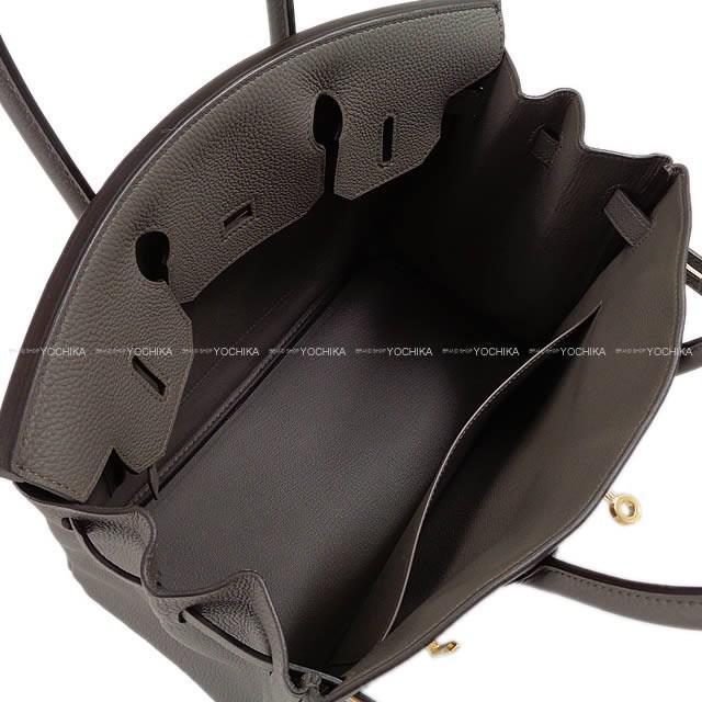 b38ad1b556 Lyst - Hermès Handbag Birkin 30 Etain Togo Ghw brand New  authentic ...