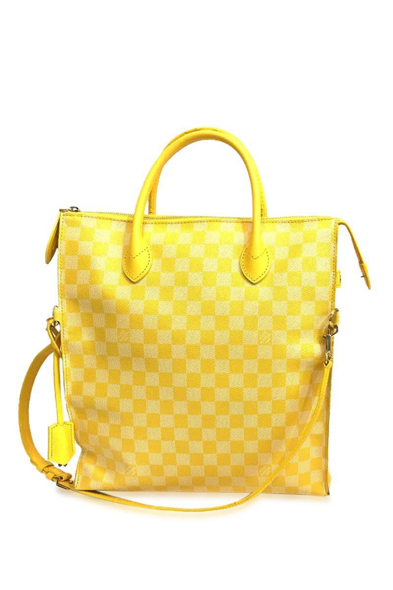 c703822c8ddd Lyst - Louis Vuitton Damier-clair Men s Women s Mobile 2way Bag ...