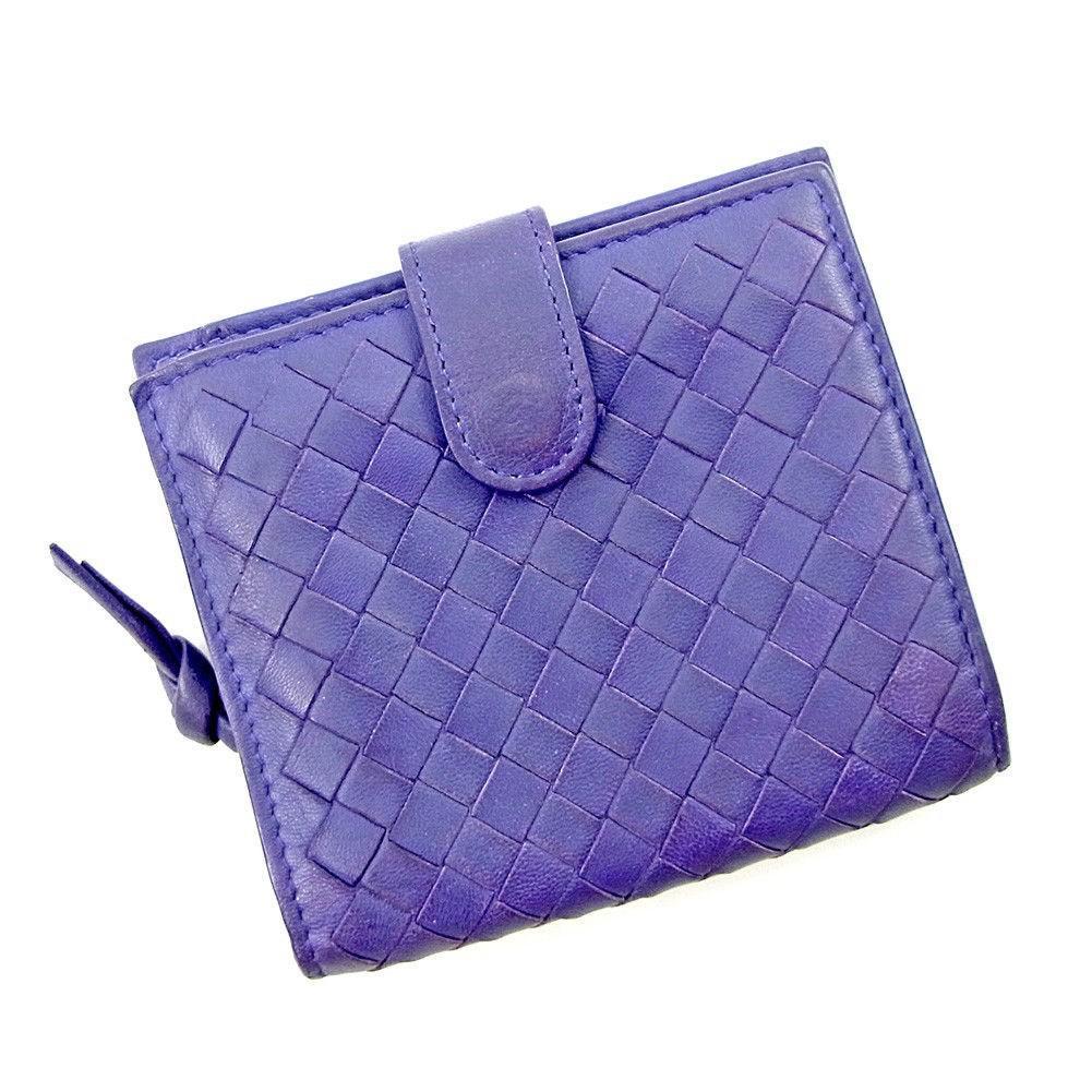 f18e1e3e9da2 Lyst - Bottega Veneta Bifold Wallet Intrecciato Womens Mens Used ...