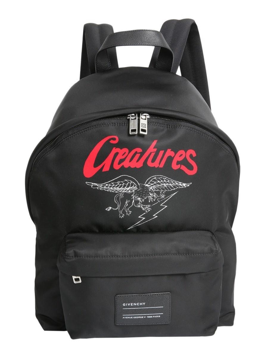 8bc9264ed25e Givenchy - Men s Bk500gk0ap960 Black Acrylic Backpack for Men - Lyst. View  fullscreen