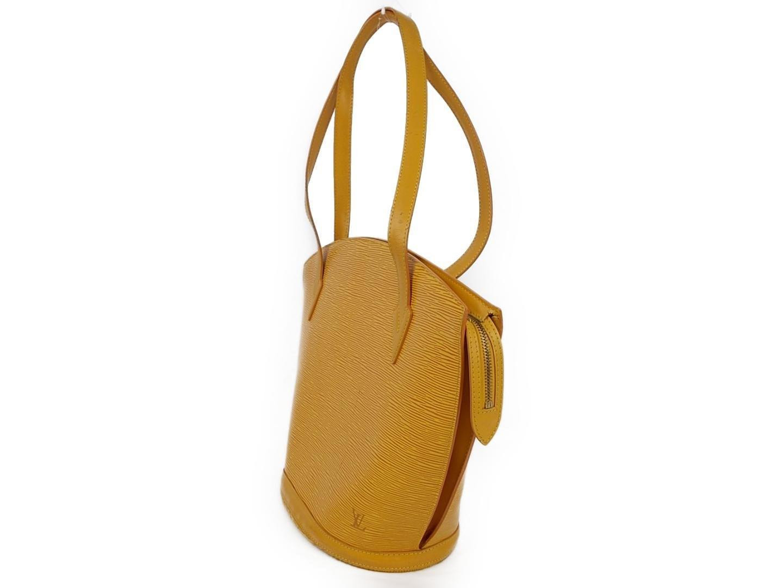 5bcb9cfb93e9 Lyst - Louis Vuitton Saint Jacques Shopping Shoulder Handbag Jaune ...