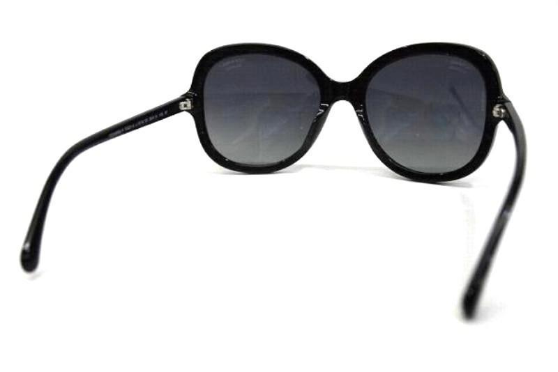722ff00f7f0 Lyst - Chanel Authentic Square Shaped Cc Sunglasses Shades Black ...