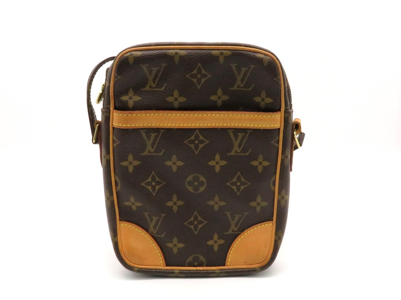 ca3d0aa5b56b Lyst - Louis Vuitton Lv Danube Shoulder Bag Monogram Brown M45266 ...