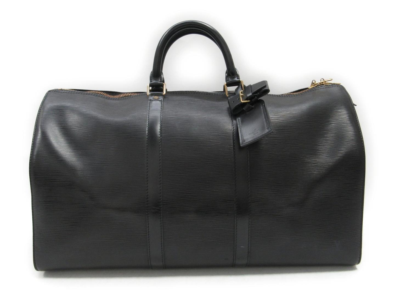 08fdb516eb4c Lyst - Louis Vuitton Keepall Bandouliere 50 Boston Bag Epi Leather ...