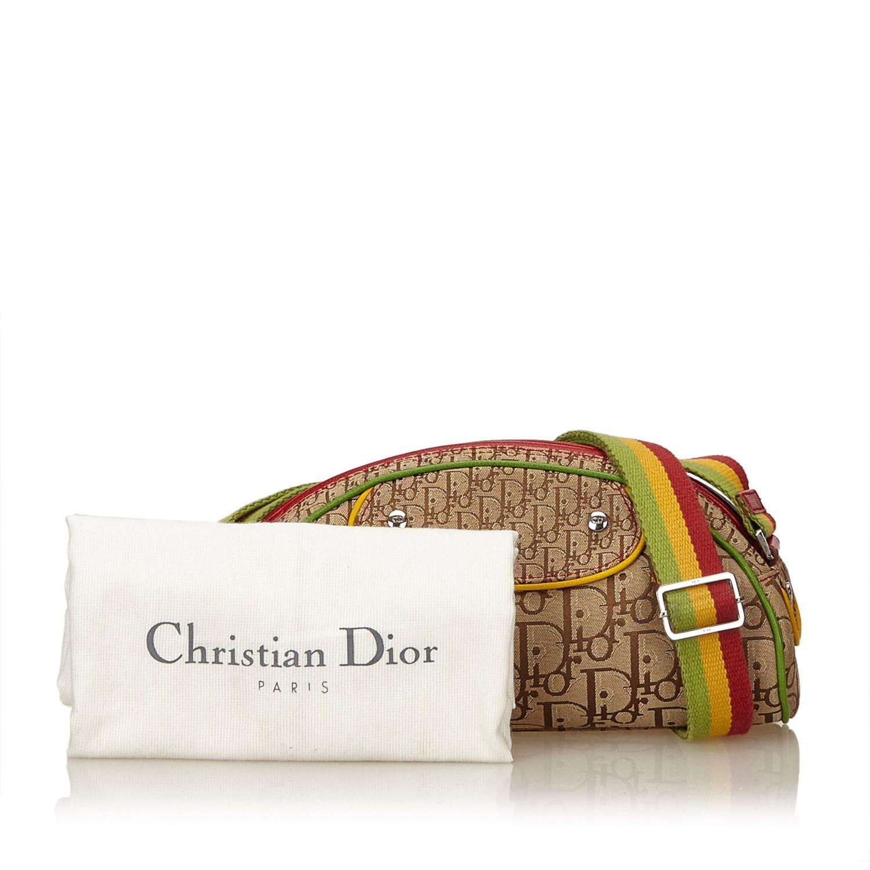 Lyst - Dior Oblique Rasta Shoulder Bag in Natural 6b3ba83cc9b3d