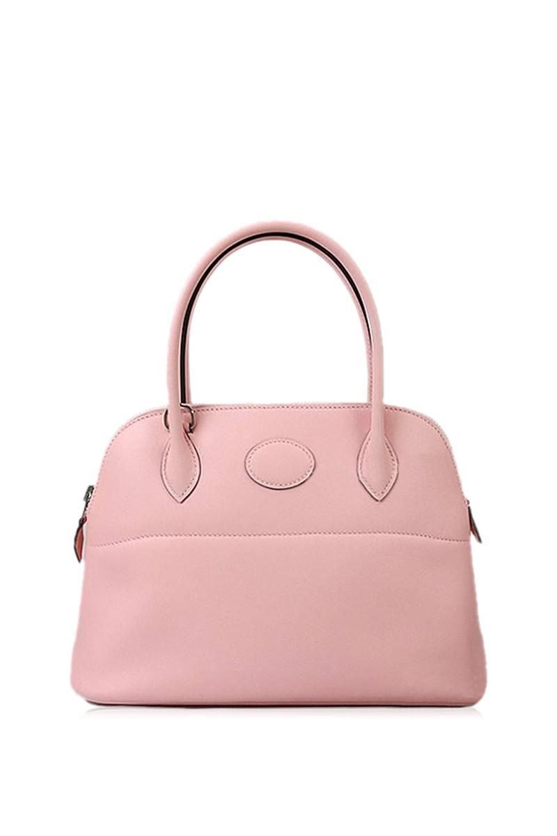 814e16c9a647 Lyst - Hermès Shoulder Bags Bolide 27 Rose Sakura Swift Shw never ...