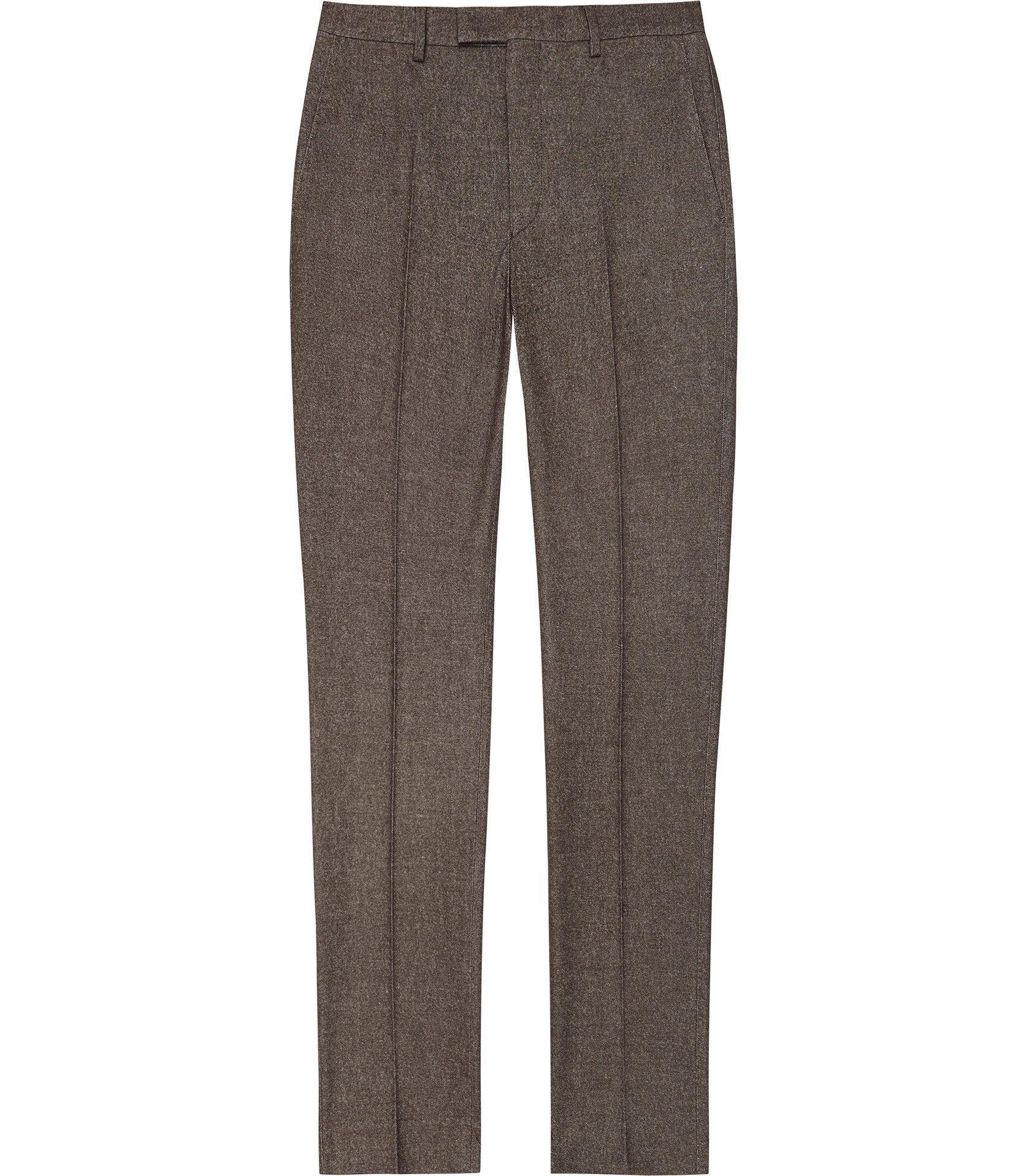 c0c6c5ff40d8 Reiss Quake - Slim Fit Brushed Cotton Trouser in Brown for Men ...
