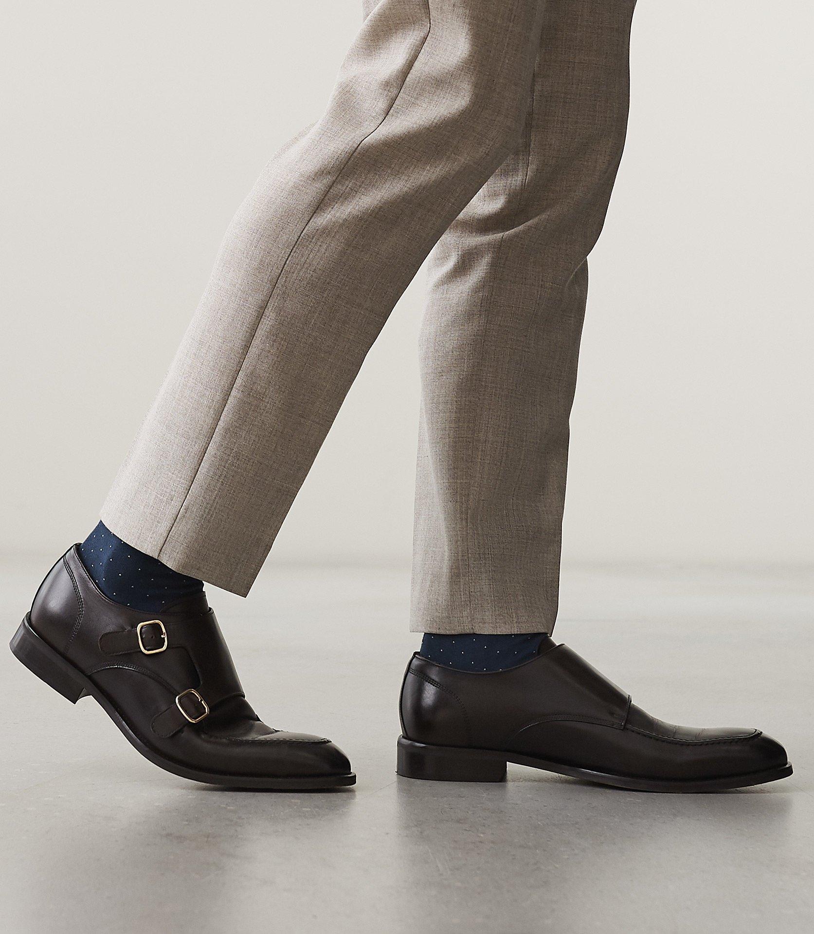 95d27d18410e Reiss - Brown Rilmont - Double Monk Strap Shoes for Men - Lyst. View  fullscreen