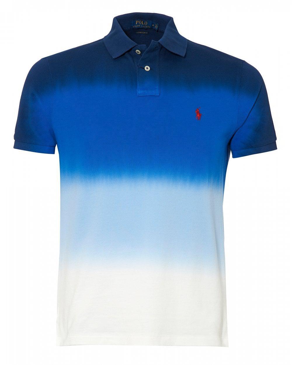 e8ce17b0b Ralph Lauren. Men s Graduated Dip Dye Polo Shirt
