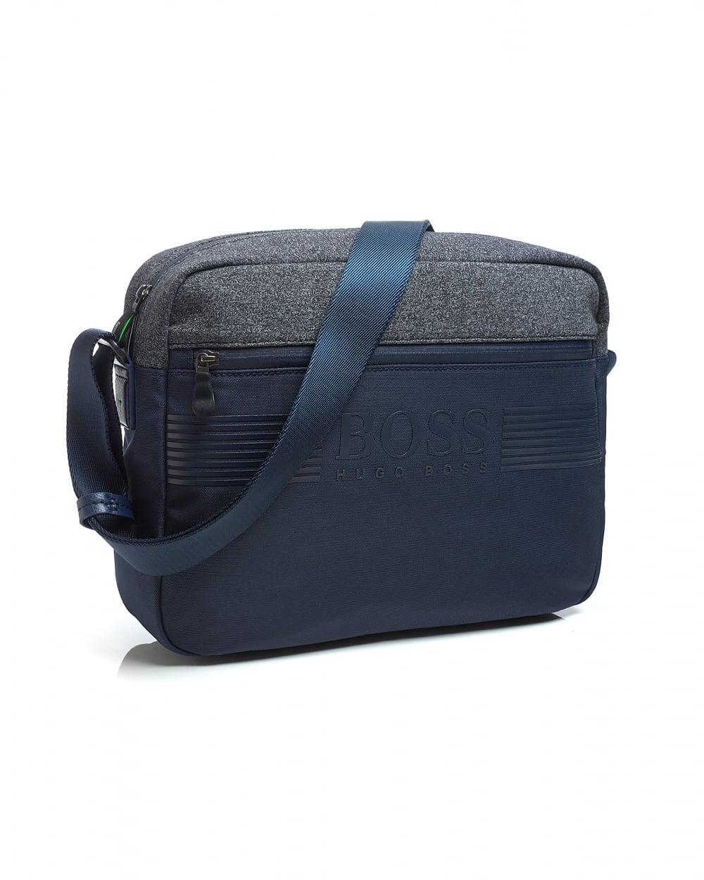 c09fb0f7db BOSS Pixel Nn Messenger Bag, Navy Blue Shoulder Bag in Blue for Men - Save  47% - Lyst