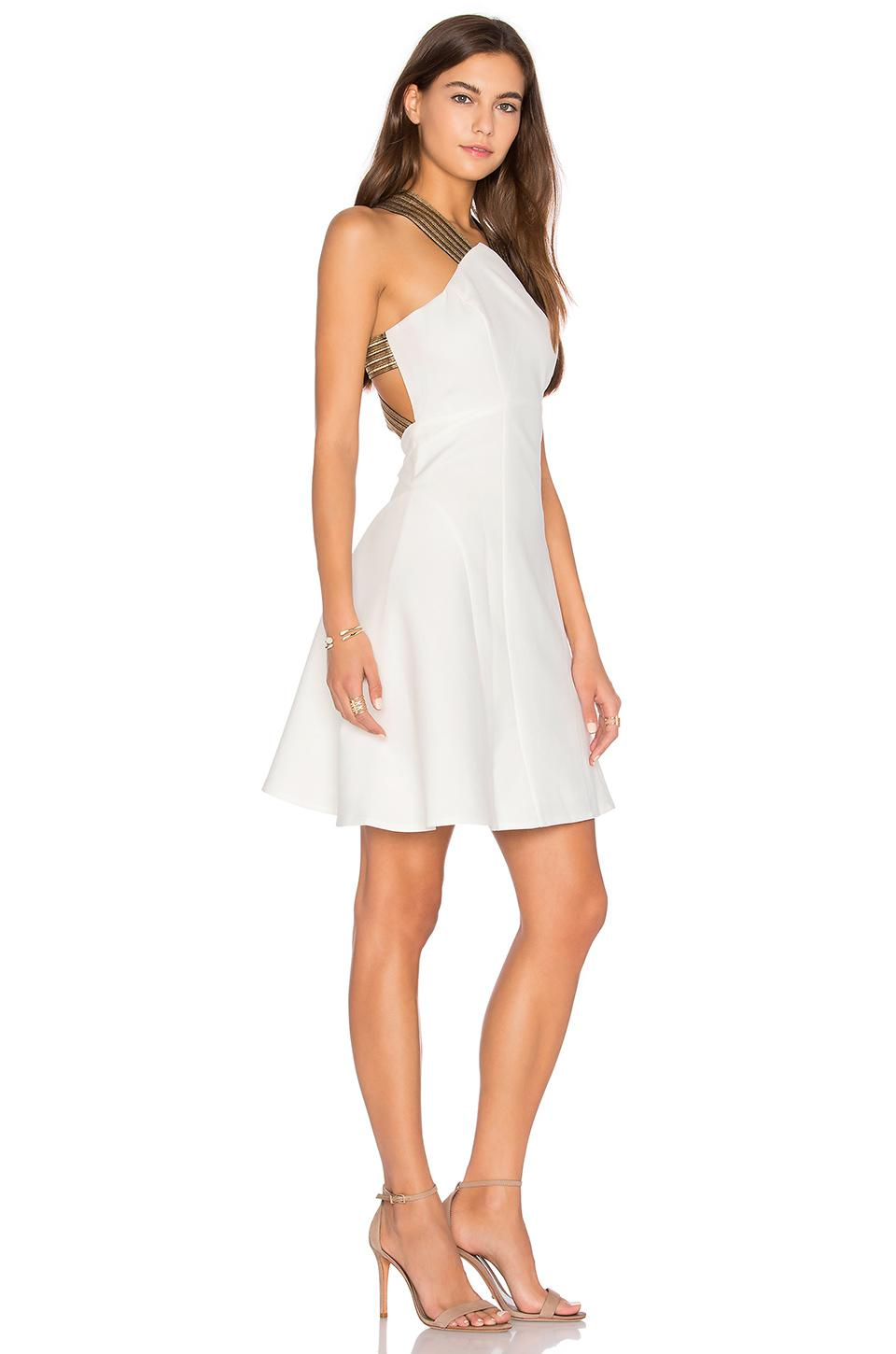 Lyst Lumier Between The Lines Fit And Flare Dress