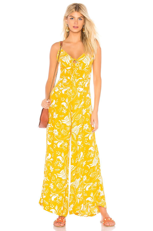 b07c59106c Cleobella X Revolve Nirvana Jumpsuit in Yellow - Lyst