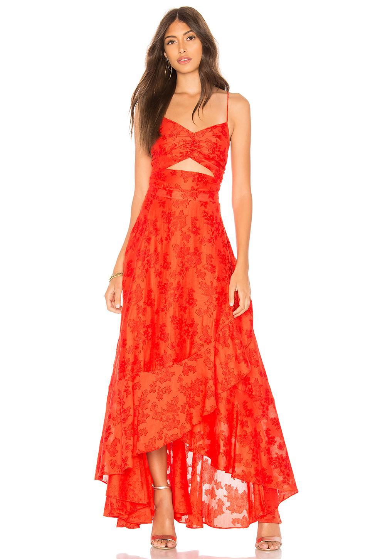 b22fbf43f3d9 Free People Buona Sera Maxi Dress in Red - Save 60% - Lyst