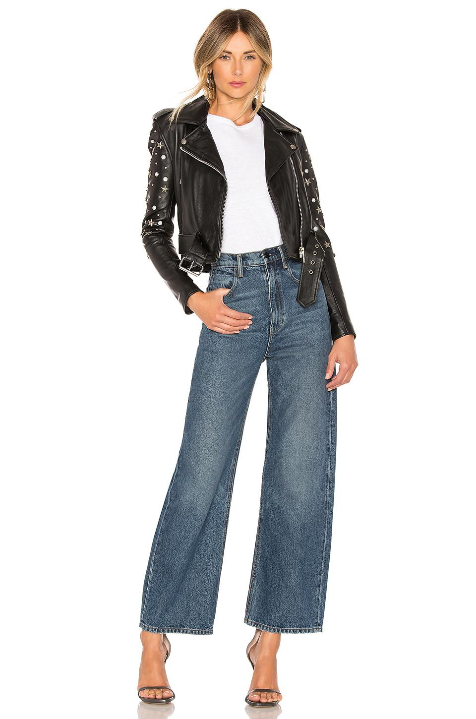 2953c0b889 Urban Outfitters X Revolve Star Studded Mercy Cropped Jacket in ...