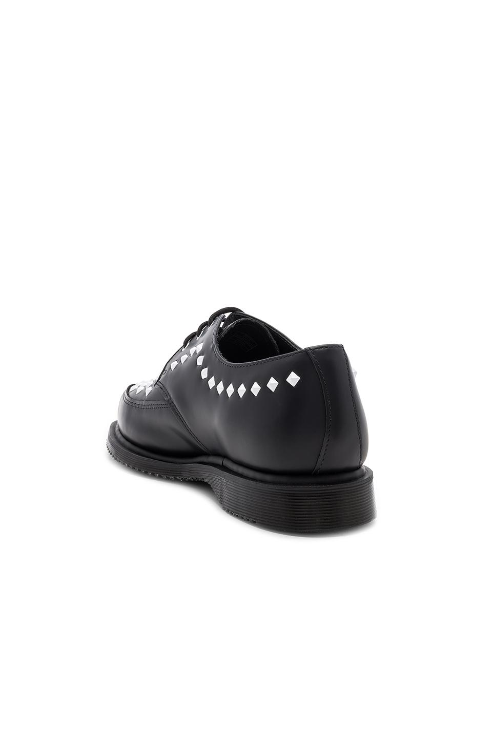 Dr. Martens Smooth Leather Rousden Stud Creepers in . hhuCaKHi