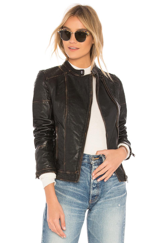 5bc0bdf7340 Lamarque Chelsea Jacket in Black - Lyst
