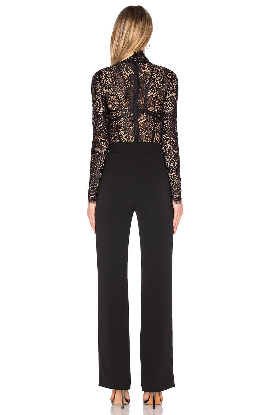34927a42f04 Lyst - Misha Collection X Revolve Allegra Jumpsuit in Black