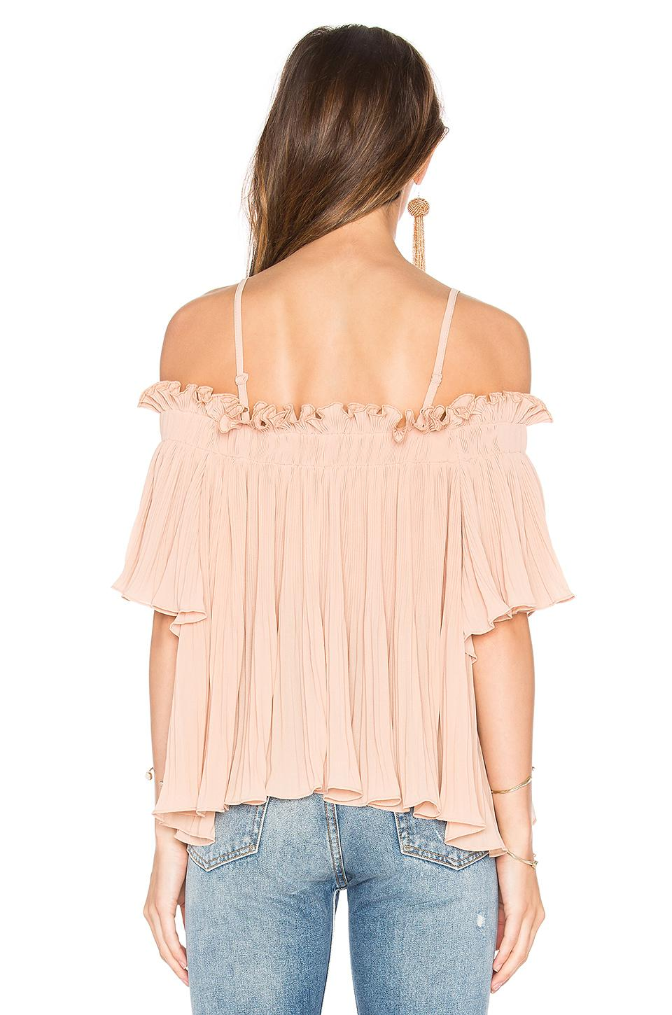 73836ace37c Endless Rose Off The Shoulder Top in Pink - Lyst