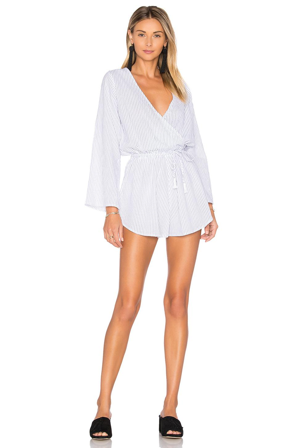 8a8f9abdd7 Lyst - Faithfull The Brand Sunkissed Playsuit in Black
